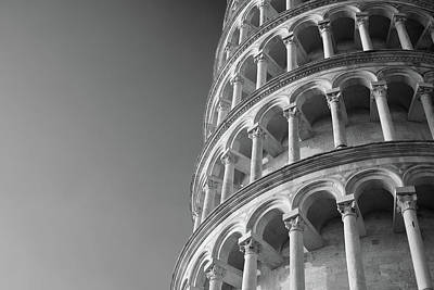 Leaning Tower Of Pisa Art Print by Richard Goodrich