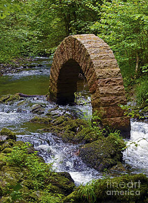 Andy Goldsworthy Photograph - Leaping Arch. by Stan Pritchard
