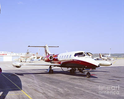 Photograph - Learjet by John Bowers