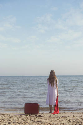 Teenagers Photograph - Leaving by Joana Kruse