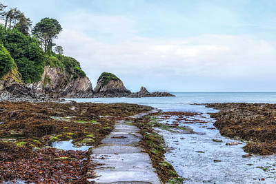 Cliff Lee Photograph - Lee Bay - England by Joana Kruse