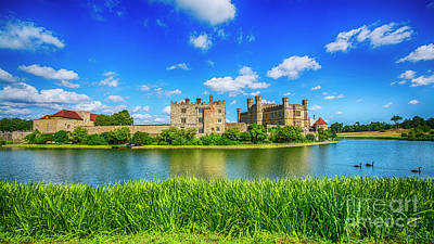 Photograph - Leeds Castle Kent by Chris Thaxter