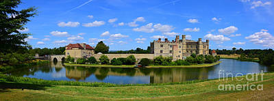Fantasy Royalty-Free and Rights-Managed Images - Leeds Castle Panorama by Chris Thaxter