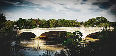 Photograph - Leeper Bridge - South Bend, Indiana by Library Of Congress