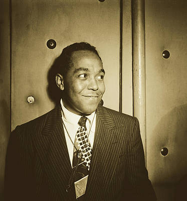 Photograph - Legendary Saxophonist, Charlie Parker  by Library Of Congress