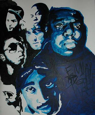 Legends Together Art Print by Matt Burke