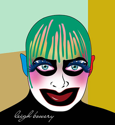 Boy George Digital Art - Leigh Bowery 5 by Mark Ashkenazi