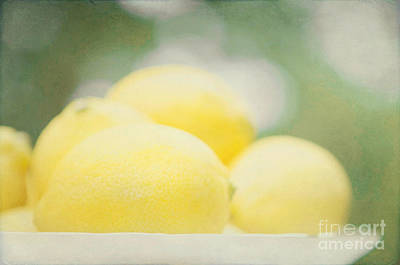 Lemons Art Print by Kim Fearheiley