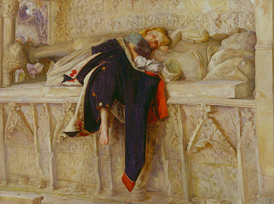 Painting - L'enfant Du Regiment by John Everett Millais