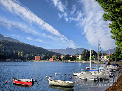 Photograph - Lenno.lake Como by Jennie Breeze