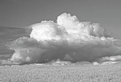 Photograph - Lenticular Thunderhead by Doug Davidson