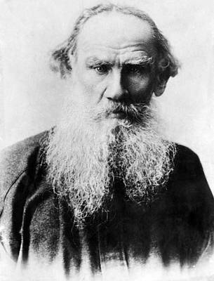 1900s Portraits Photograph - Leo Tolstoy 1828-1910, Russian Writer by Everett