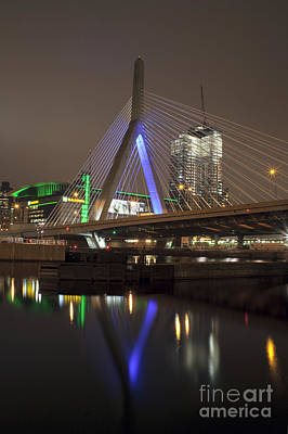 Photograph - Leonard P. Zakim Bridge by Kimberly Nyce