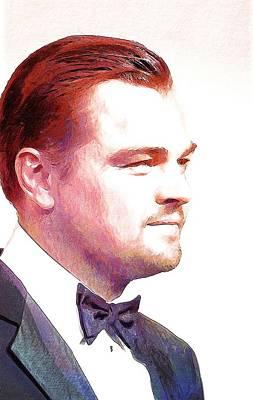 Leonardo Dicaprio Print Print by Best Actors