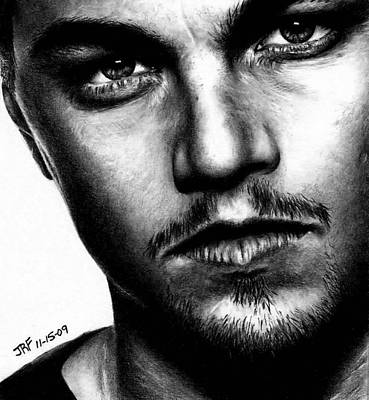 Drawing - Leonardo Dicaprio by Rick Fortson