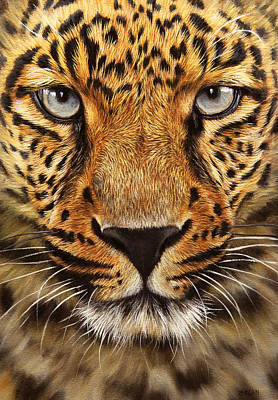 Painting - Leopard by Jason Morgan