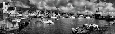 Photograph - Lerwick Harbor - Shetland Isles Scotland by Graham Hobster