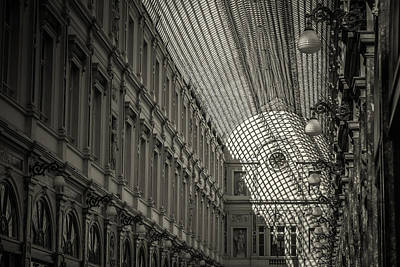 Brussels Photograph - Les Galeries Royales Saint-hubert by Chris Fletcher