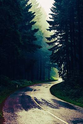 Painting - Less Travelled Road by Celestial Images