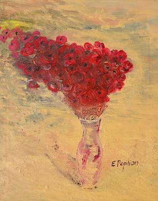 Painting - Lest We Forget by Evelina Popilian