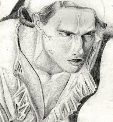 Lestat Art Print by Michael McKenzie
