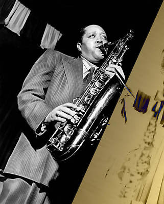 Mixed Media - Lester Young Collection by Marvin Blaine