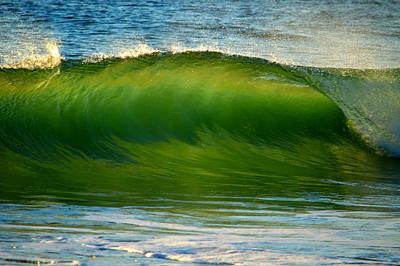 Undertow Photograph - Let It Flow by Dianne Cowen