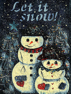 Painting - Let It Snow by Natalie Holland
