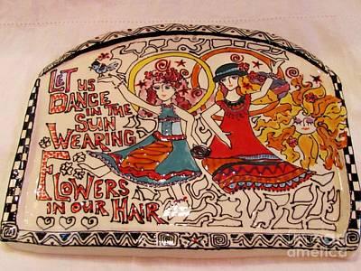 Ceramic Art - Let Us Dance by Lisa Dunn