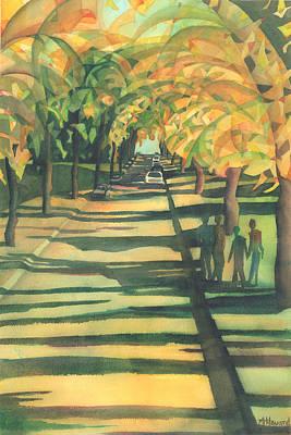 Lethbridge Gold Art Print by Anne Havard