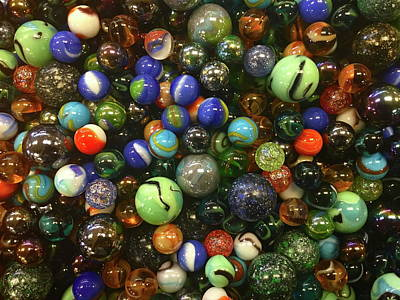 Photograph - Let's Play Marbles by Denise Mazzocco