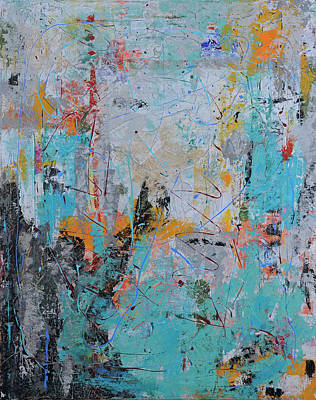 Painting - Letting Go Again by Jim Benest