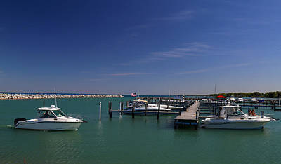 Photograph - Lexington Marina by Mary Bedy