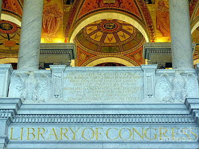 Photograph - Library Of Congress by Ed Weidman