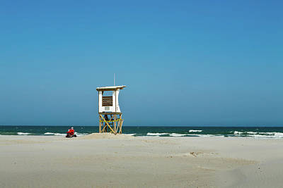 Photograph - Life Guard by Denis Lemay