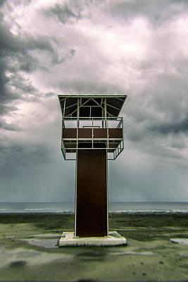 Sea Watch Photograph - Lifeguard Post by Stelios Kleanthous