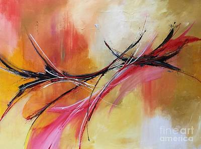 Painting - Light As A Feather by Elaine Callahan