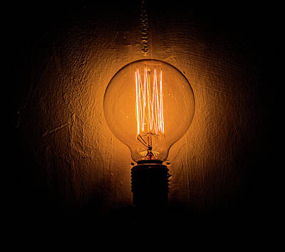 Photograph - Light Bulb by Hyuntae Kim