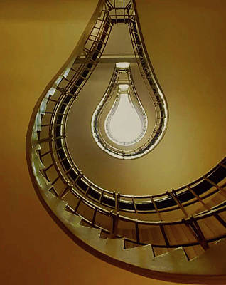 Photograph - Light Bulb Staircase by John Kearns