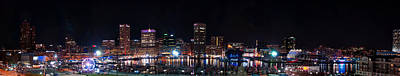 Photograph - Light City Inner Harbor by Mark Dodd