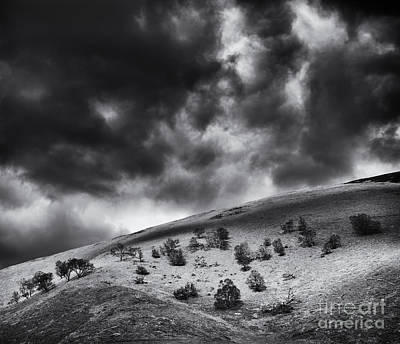Sky Scape Photograph - Light In Dark Spaces by Tim Gainey