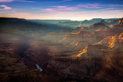 Photograph - Light In The Canyon by Andrew Soundarajan