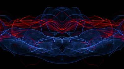 Light Motion Series 2 Art Print by Nathan Larson
