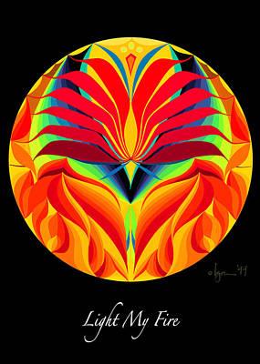 Painting - Light My Fire by Angela Treat Lyon