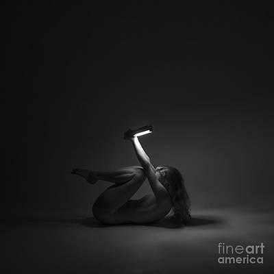 Photograph - Light Study - Lying by Clayton Bastiani