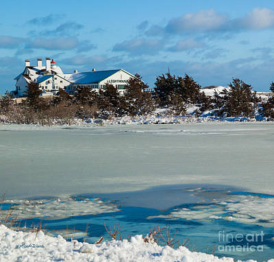 Photograph - Lighthouse Inn In Winter by Michelle Wiarda