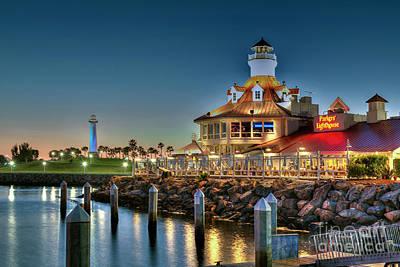 Photograph - Lighthouse Long Beach by David Zanzinger