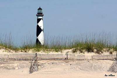 Photograph - Lighthouse On The Cape by Dan Williams