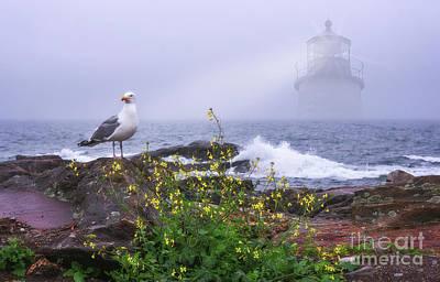 Photograph - Lighthouse Overlay by Sharon Seaward