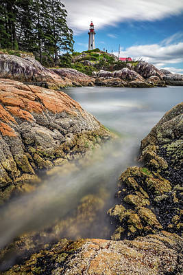 Photograph - Lighthouse Park West Vancouver by Pierre Leclerc Photography